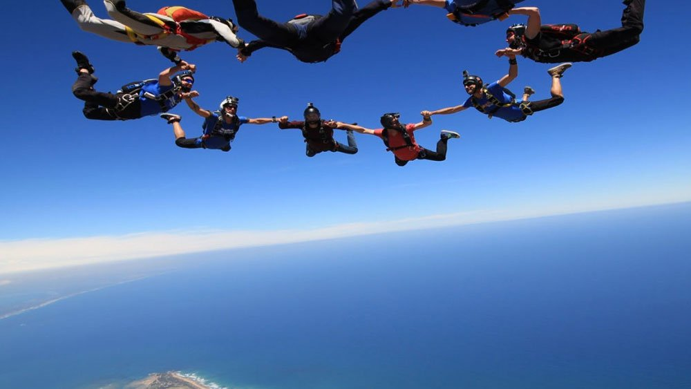 Sky Diving, Barwon Heads