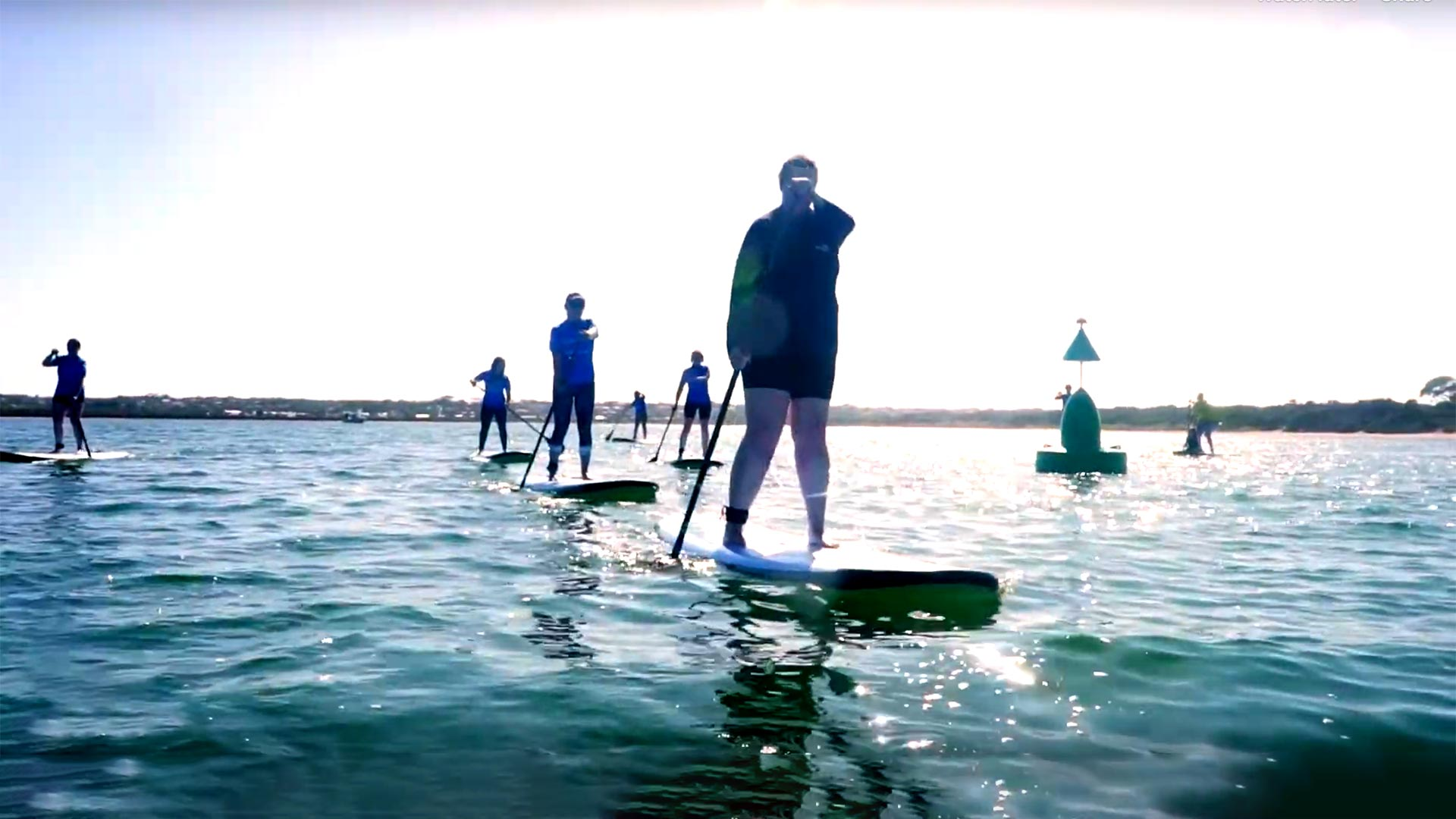 Stand Up Paddle Boading, Barwon Heads